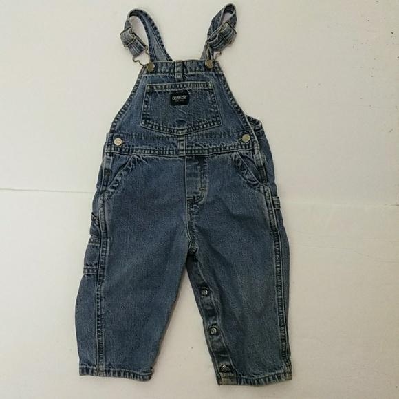OshKosh B'gosh Other - 😻 Oshkosh Baby Boy's Carpenter Overalls 18 Months